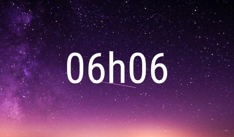 heure miroir 06h06