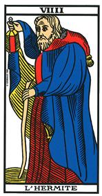 interprétation de l'heure miroir 09h09 avec le tarot