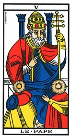 interprétation de l'heure miroir 05h05 avec le tarot